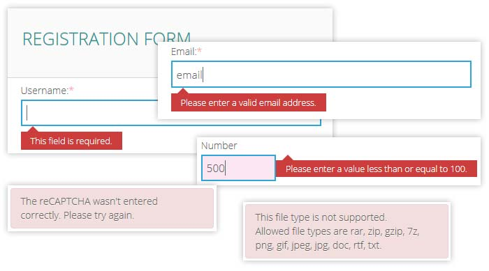 Html5 form features